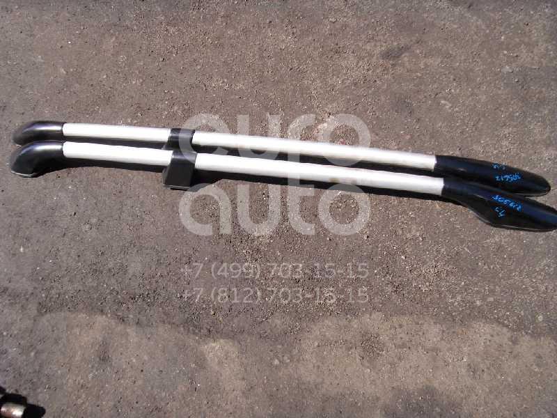 К-кт рейлингов (планки на крышу) для Mitsubishi Outlander (CU) 2003-2009 - Фото №1