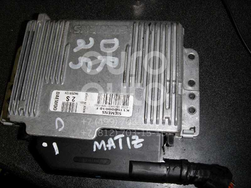 Блок управления двигателем для Daewoo Matiz (KLYA) 1998> - Фото №1