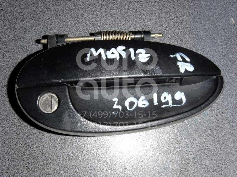 Ручка двери передней наружная правая для Daewoo Matiz (M100/M150) 1998-2015 - Фото №1