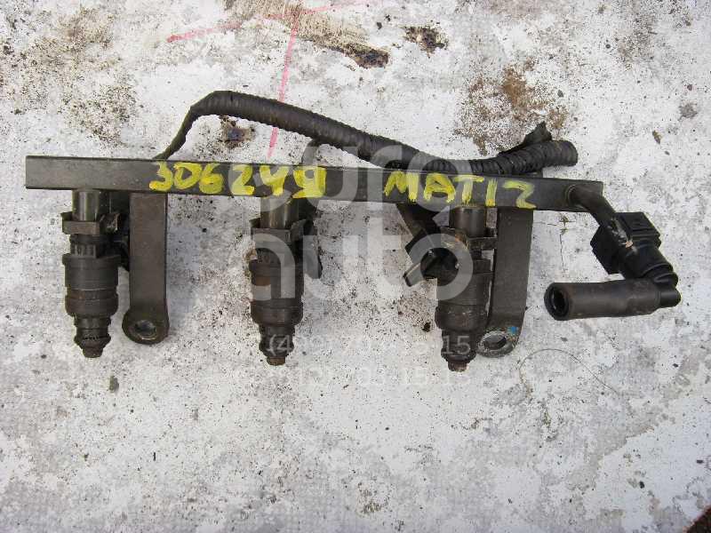 Рейка топливная (рампа) для Daewoo Matiz (M100/M150) 1998-2015 - Фото №1