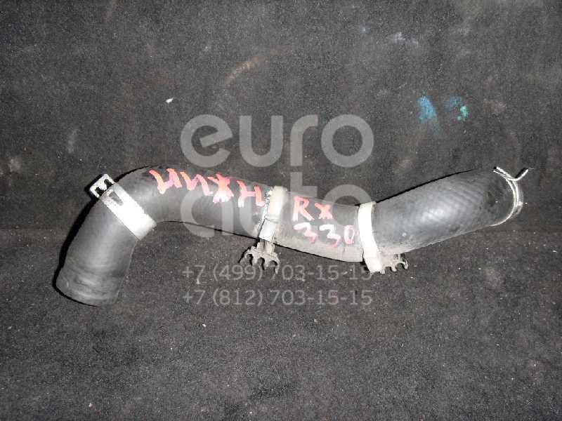 Патрубок радиатора для Lexus RX 300/330/350/400h 2003-2009 - Фото №1