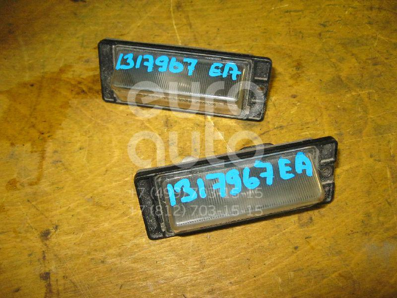 Фонарь подсветки номера Mitsubishi Galant (EA) 1997-2003; (MR296650)  - купить со скидкой