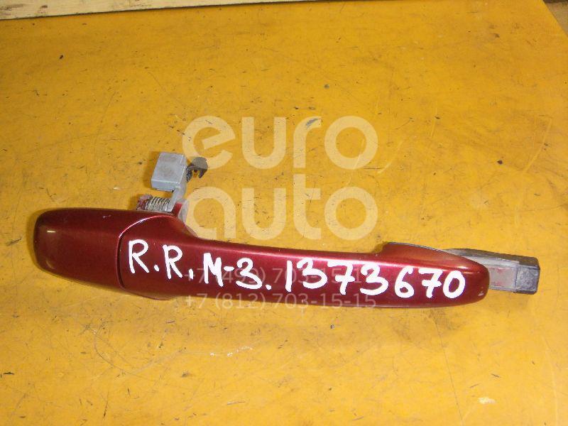 Купить Ручка двери наружная правая Mazda Mazda 3 (BK) 2002-2009; (GJ6A58410D28)