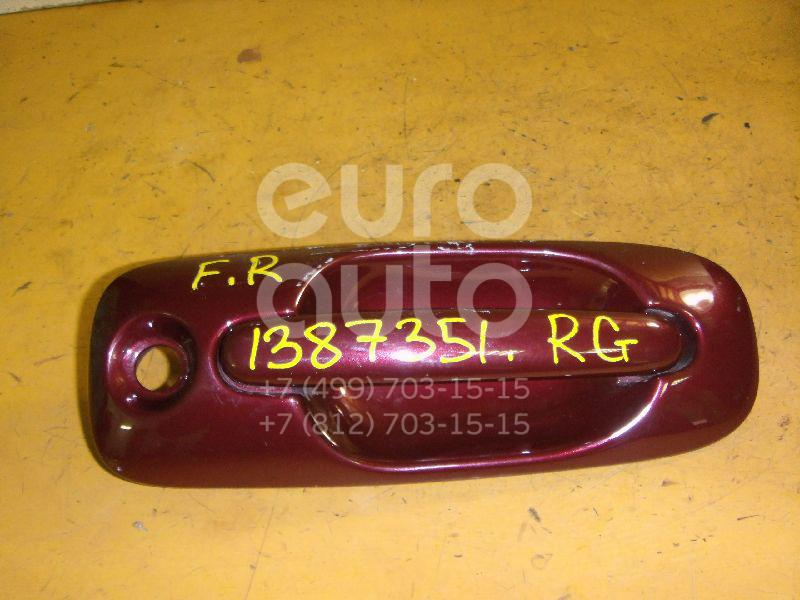 Купить Ручка двери передней наружная правая Chrysler Voyager/Caravan (RG/RS) 2000-2008; (4717512AB)