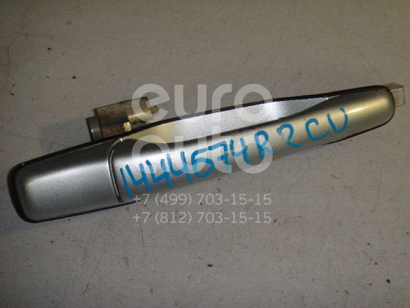 Купить Ручка двери задней наружная правая Mitsubishi Outlander (CU) 2001-2008; (MR970318)