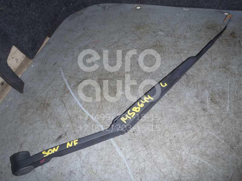 Купить Поводок стеклоочистителя передний левый Hyundai Sonata V (NF) 2005-2010; (983103K000)
