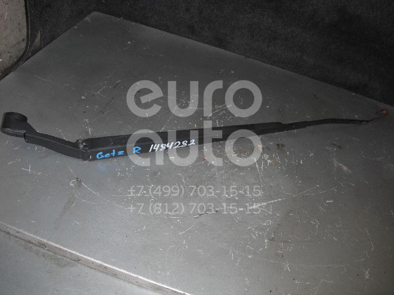 Купить Поводок стеклоочистителя передний правый Hyundai Getz 2002-2010; (983201C000)