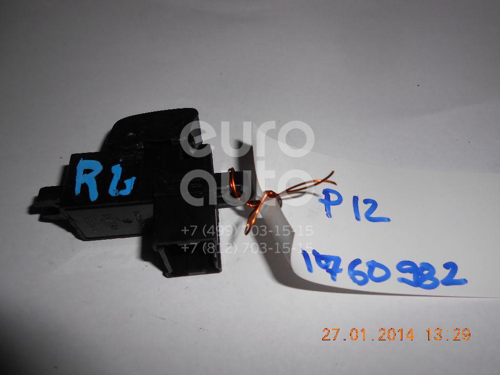 Купить Кнопка стеклоподъемника Nissan Primera P12E 2002-2007; (25411AV600)