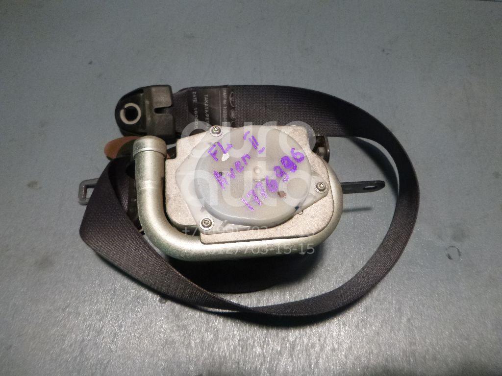 Ремень безопасности с пиропатроном Toyota Avensis II 2003-2008; (7322005050C0)  - купить со скидкой