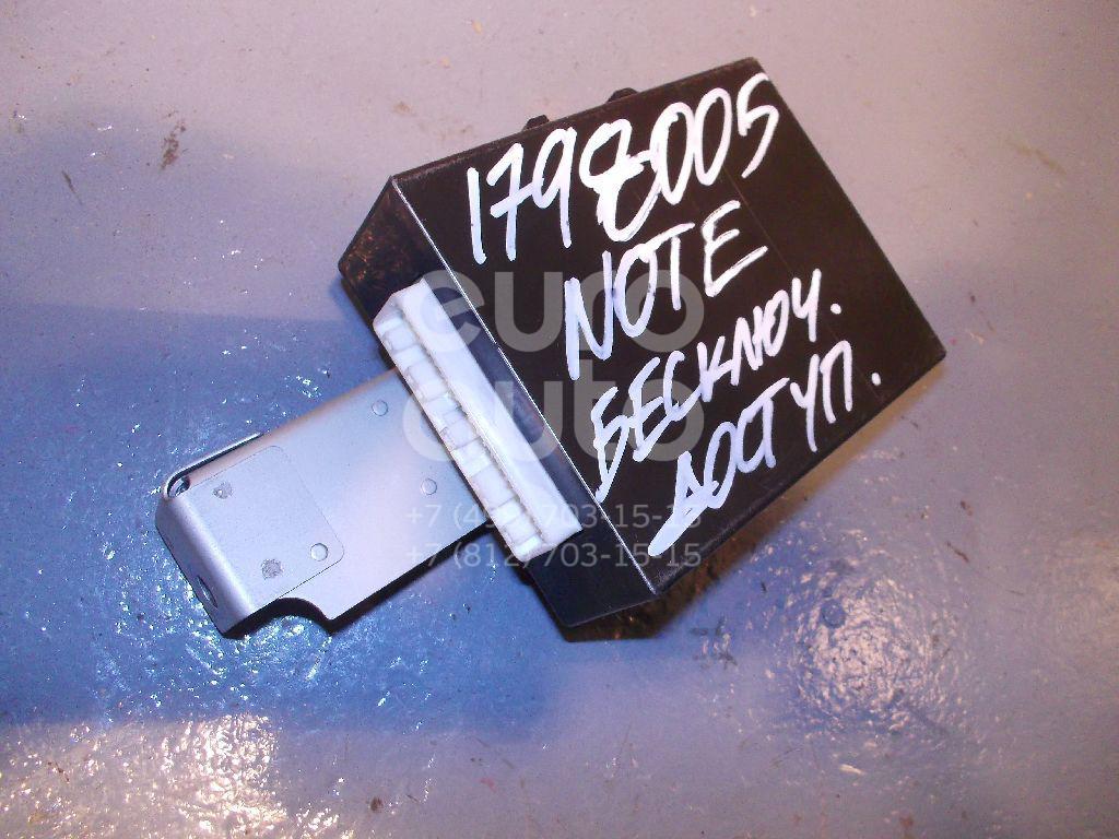 Блок электронный Nissan Note (E11) 2006-2013; (285E19U02D)  - купить со скидкой