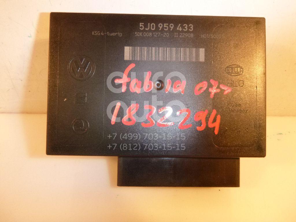 Купить Блок комфорта Skoda Fabia 2007-2015; (5J0959433)