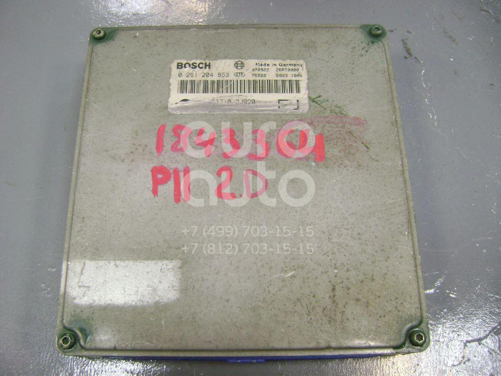 Купить Блок управления двигателем Nissan Primera P11E 1996-2002; (0261204853)