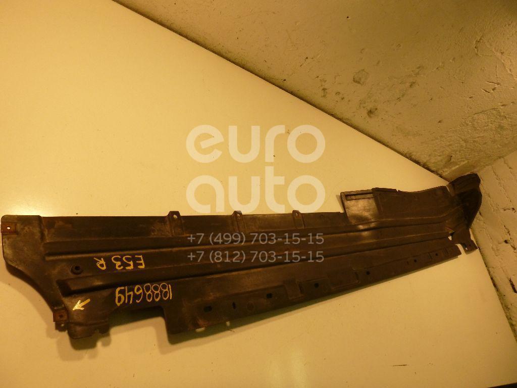 Защита антигравийная для BMW X5 E53 2000-2007 - Фото №1