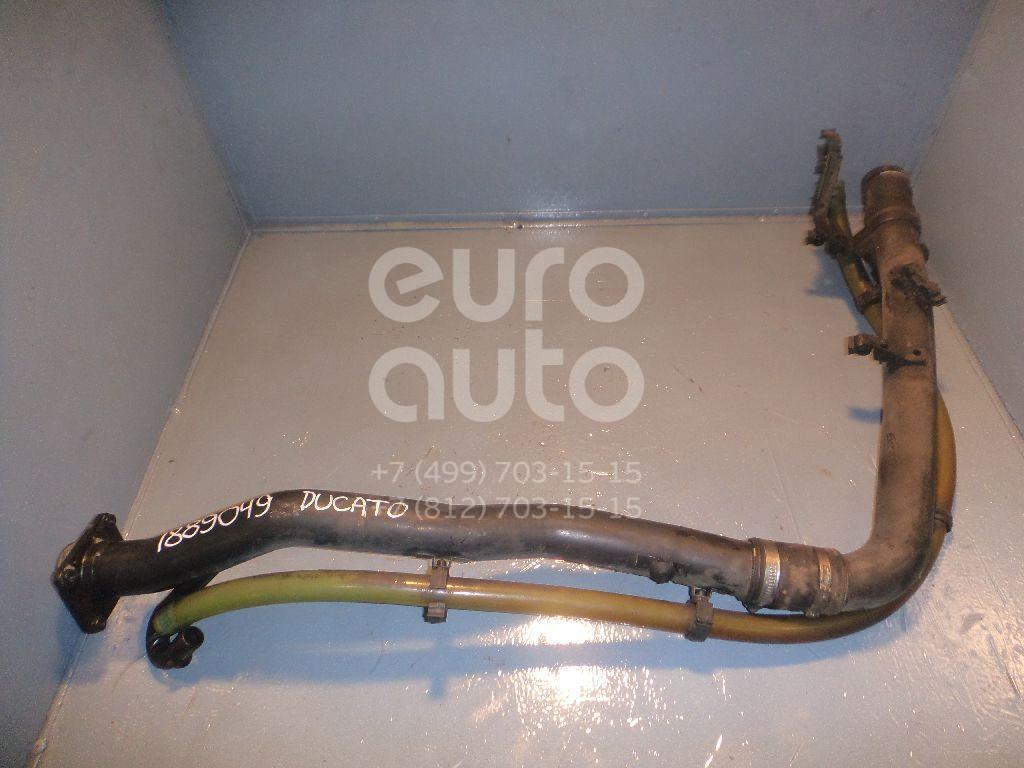 Горловина топливного бака для Fiat Ducato 244 (+ЕЛАБУГА) 2002-2006 - Фото №1