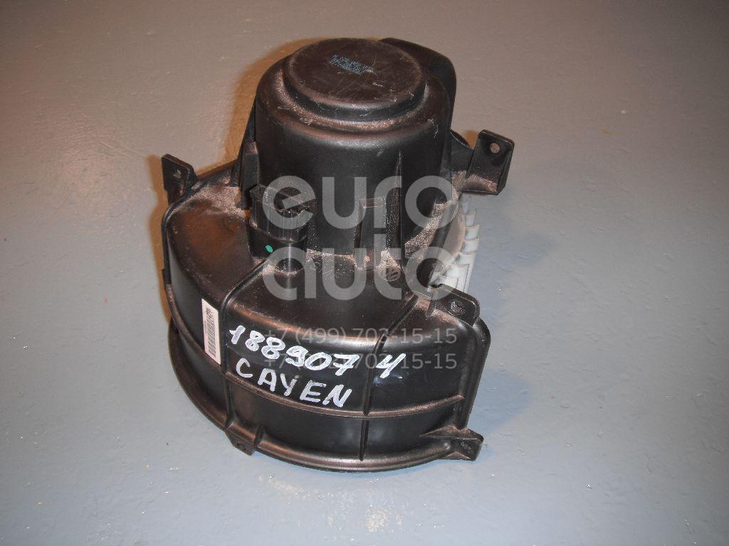 Моторчик отопителя для Porsche,AUDI,VW Cayenne 2003-2010;Q7 [4L] 2005-2015;Touareg 2002-2010;Amarok 2010> - Фото №1