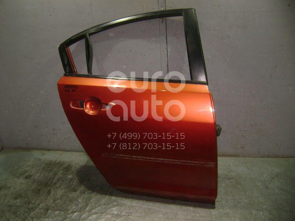 Дверь задняя правая для Mazda Mazda 3 (BK) 2002-2009 - Фото №1