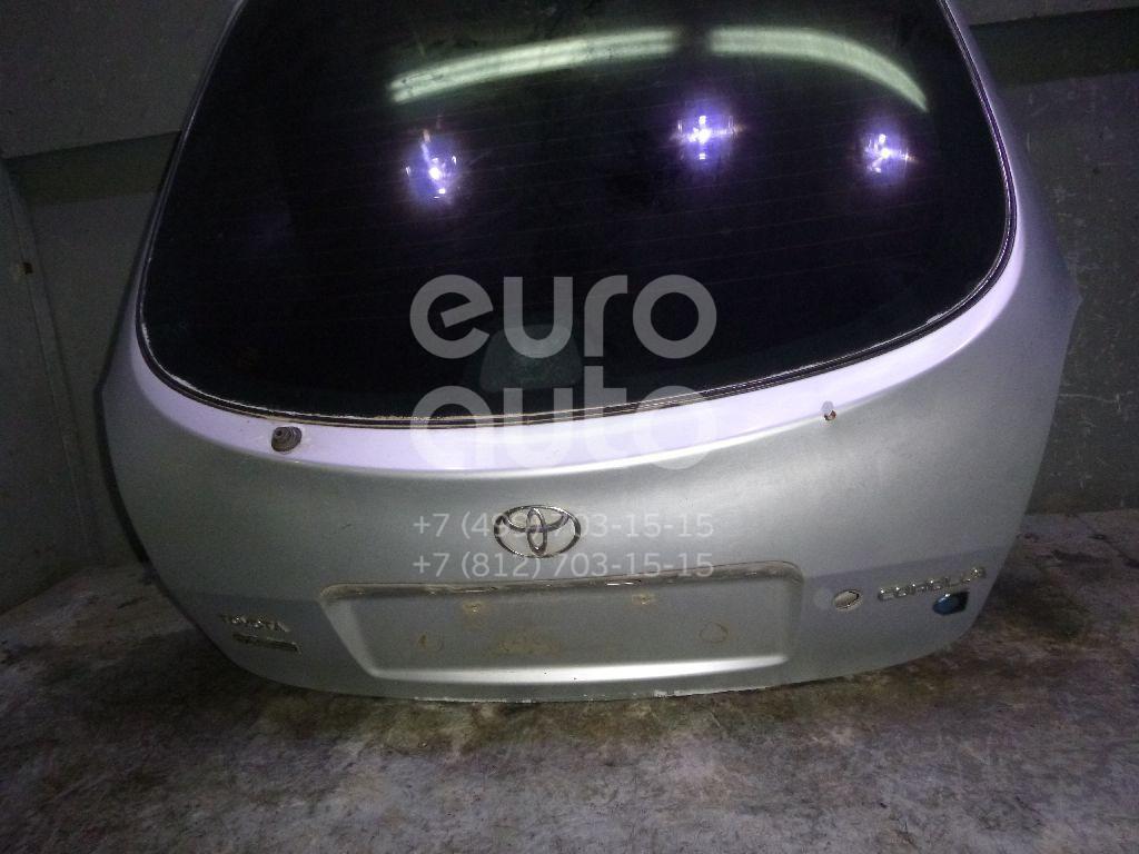 Дверь багажника со стеклом для Toyota Corolla E11 1997-2001 - Фото №1