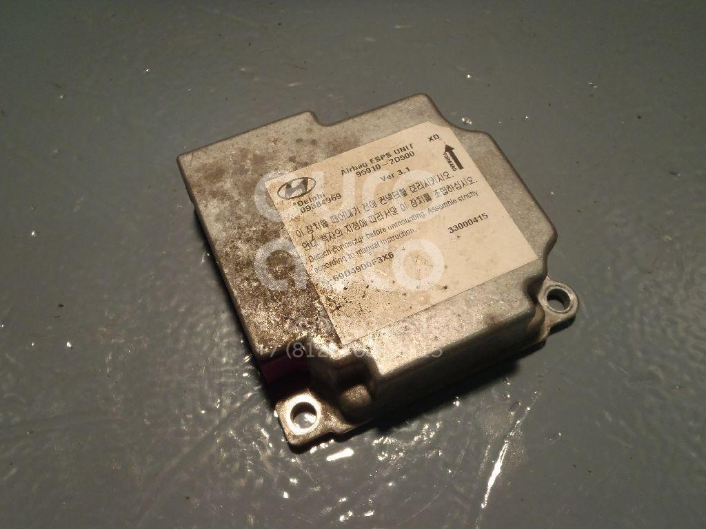 Блок управления AIR BAG для Hyundai Elantra 2000-2006 - Фото №1