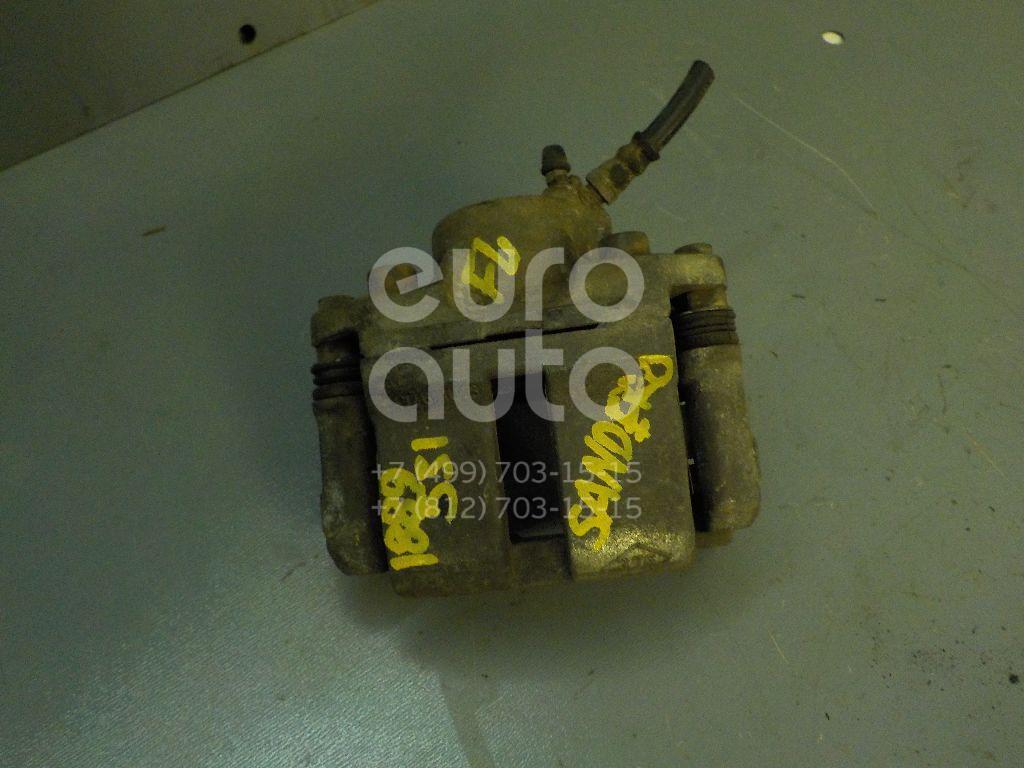 Суппорт передний левый для Renault Sandero 2009-2014 - Фото №1