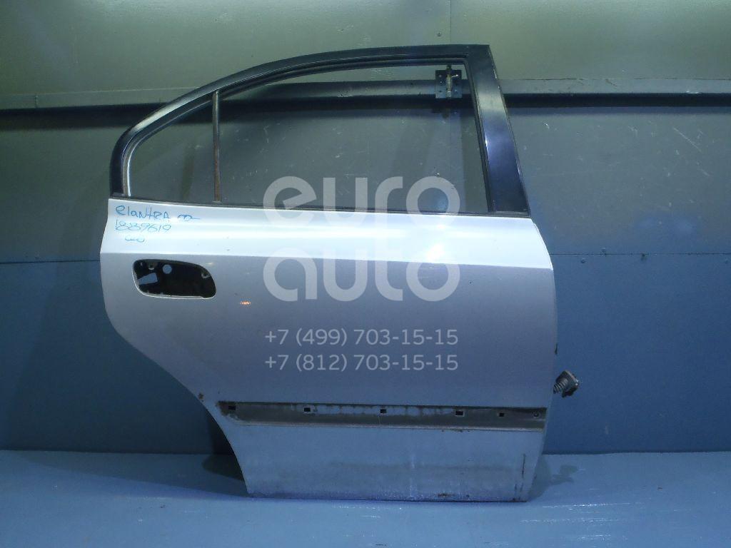 Дверь задняя правая для Hyundai Elantra 2000-2005 - Фото №1