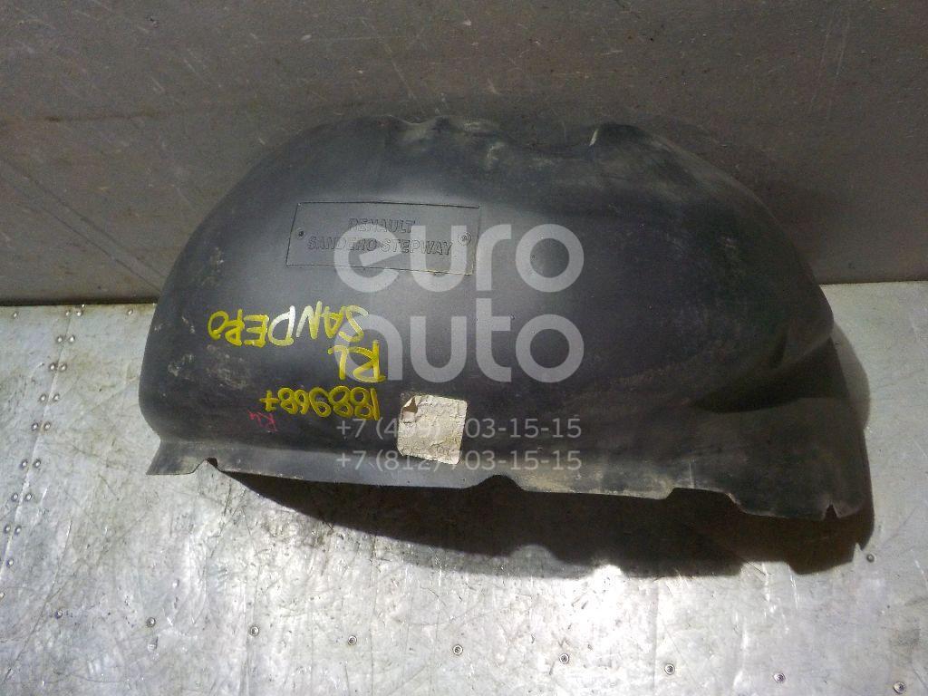 Локер задний левый для Renault Sandero 2009-2014 - Фото №1