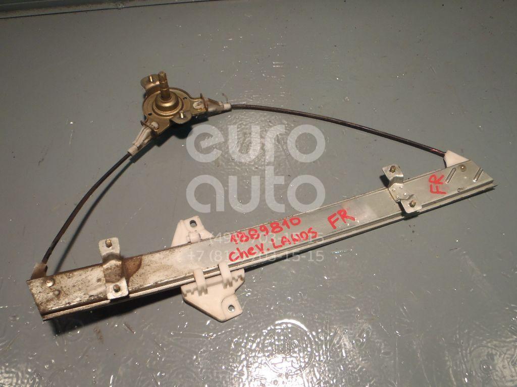 Стеклоподъемник механ. передний правый для Chevrolet Lanos 2004-2010 - Фото №1