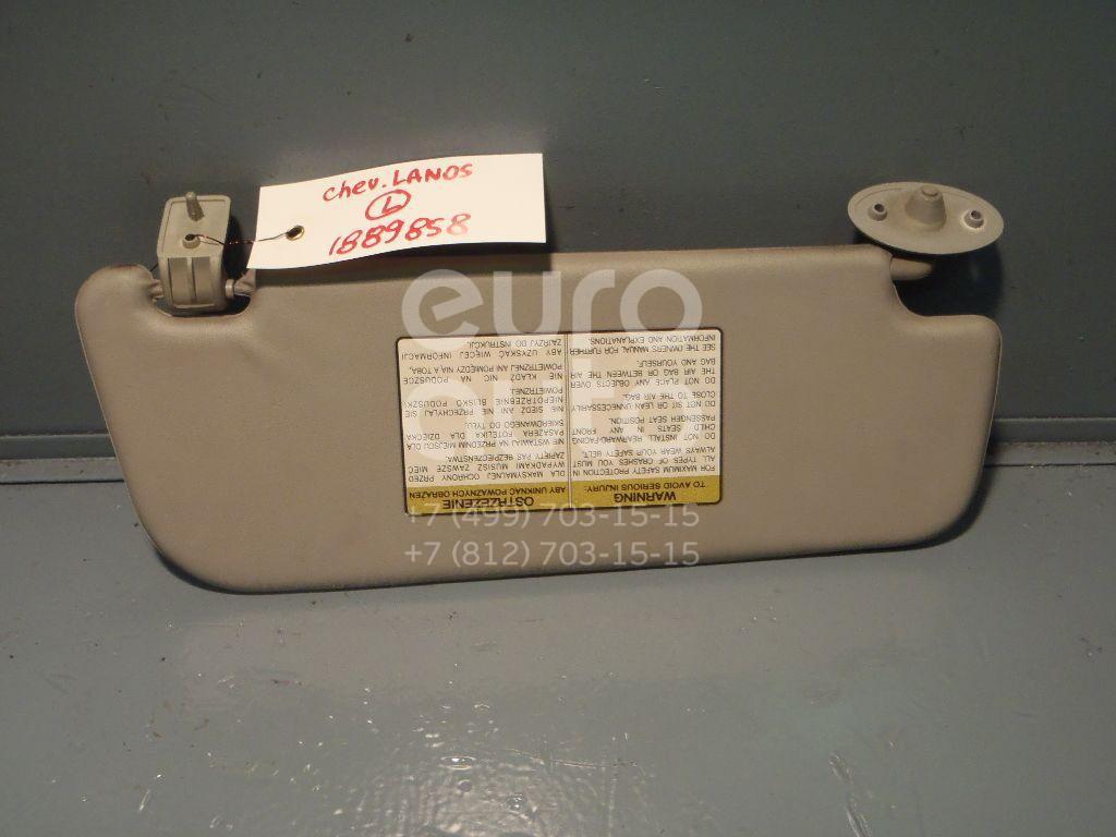 Козырек солнцезащитный (внутри) для Chevrolet Lanos 2004-2010 - Фото №1