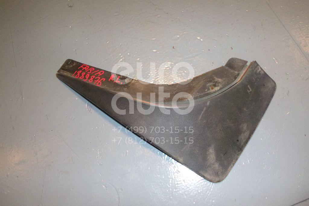 Брызговик задний левый для Skoda Fabia 2007-2015 - Фото №1