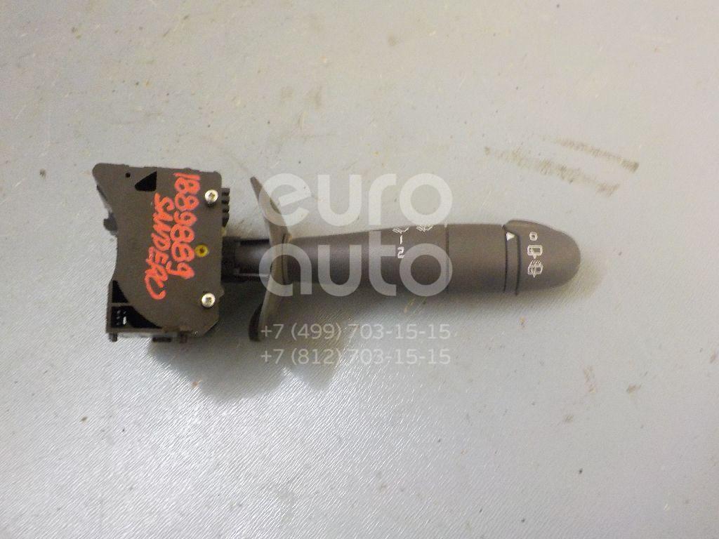 Переключатель стеклоочистителей для Renault Sandero 2009-2014 - Фото №1