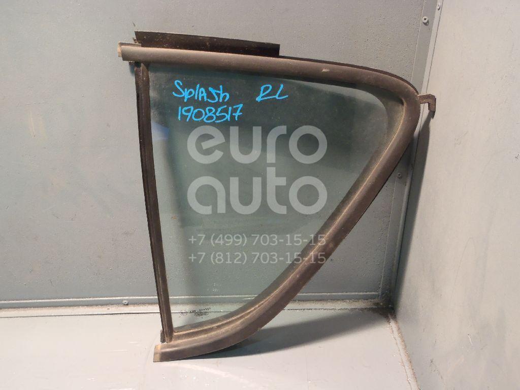 Купить Стекло двери задней левой (форточка) Suzuki Splash 2008-2015; (8455651K00)