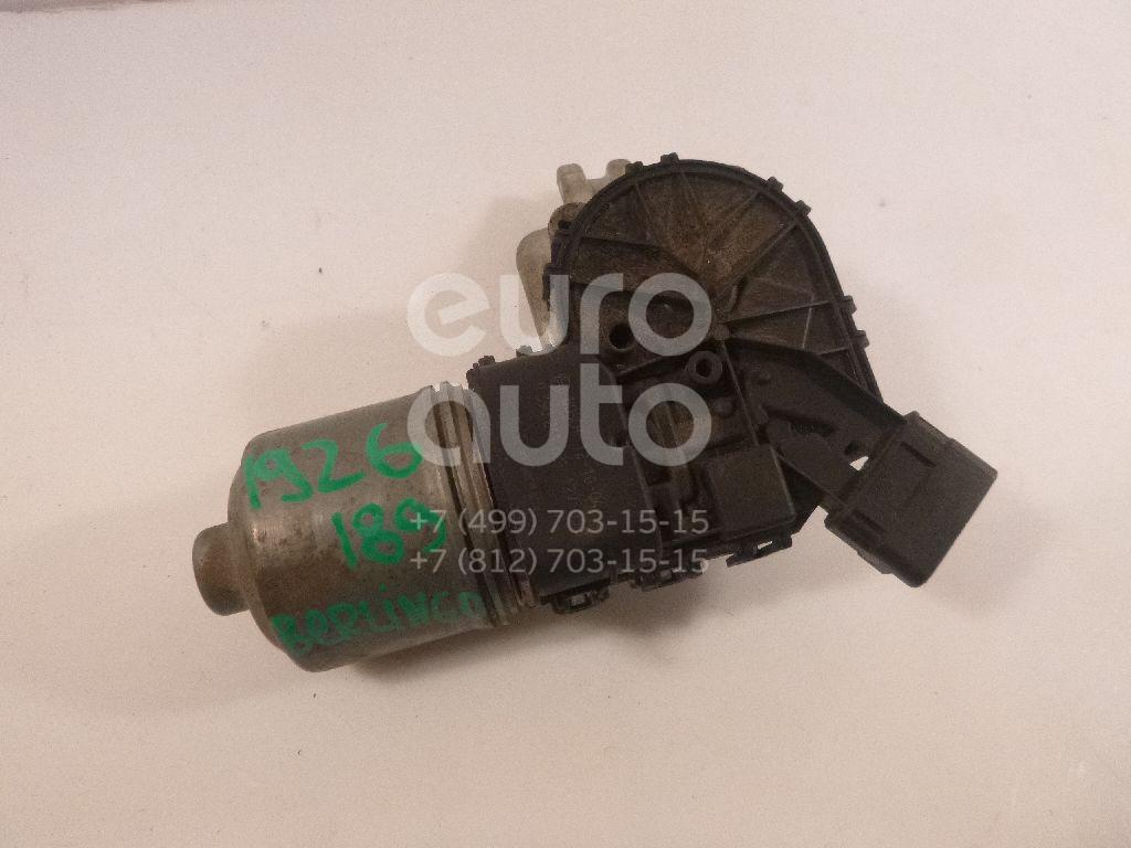 Моторчик стеклоочистителя передний Citroen Berlingo (NEW) (B9) 2008-; (0390241621)