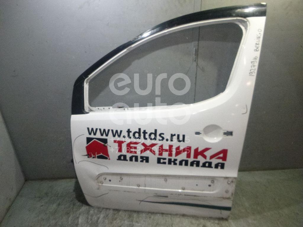 Купить Дверь передняя левая Citroen Berlingo (NEW) (B9) 2008-; (9002Z3)
