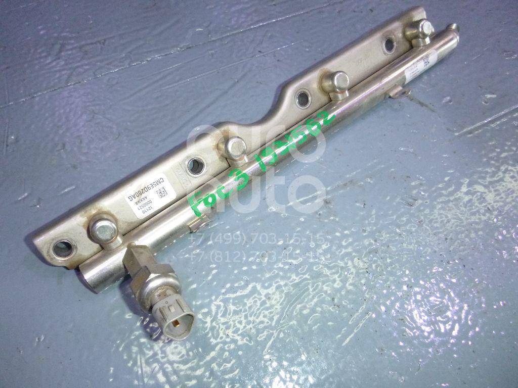 Рейка топливная (рампа) Ford Focus III 2011-; (CM5E9D280AG)