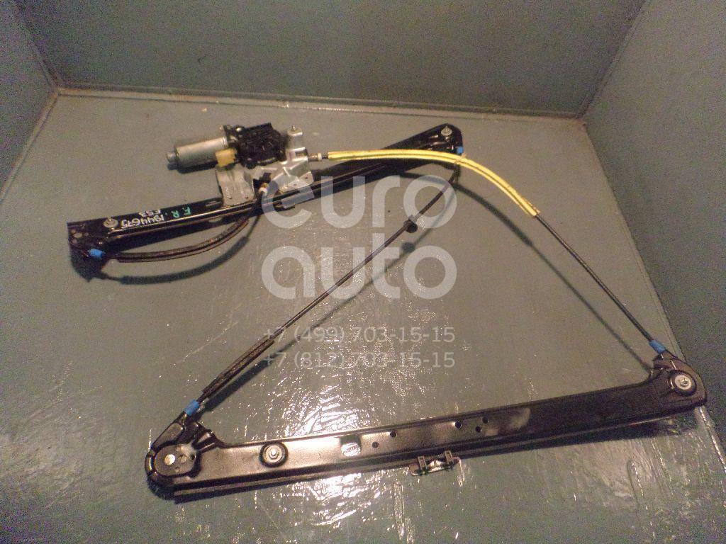 Стеклоподъемник электр. передний правый BMW X5 E53 2000-2007; (51338254912)  - купить со скидкой