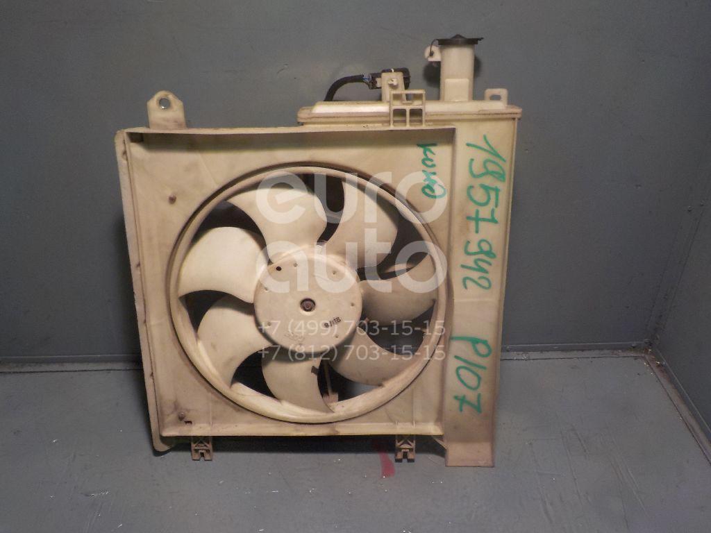 Вентилятор радиатора Peugeot 107 2006-2014; (1253G9)