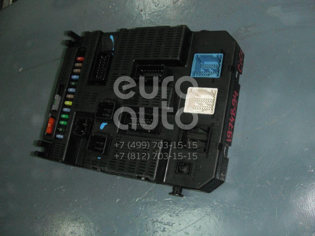 Блок предохранителей Citroen C4 2005-2011; (6580AV)