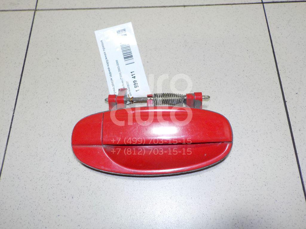 Купить Ручка двери передней наружная правая Chevrolet Aveo (T200) 2003-2008; (96409549)