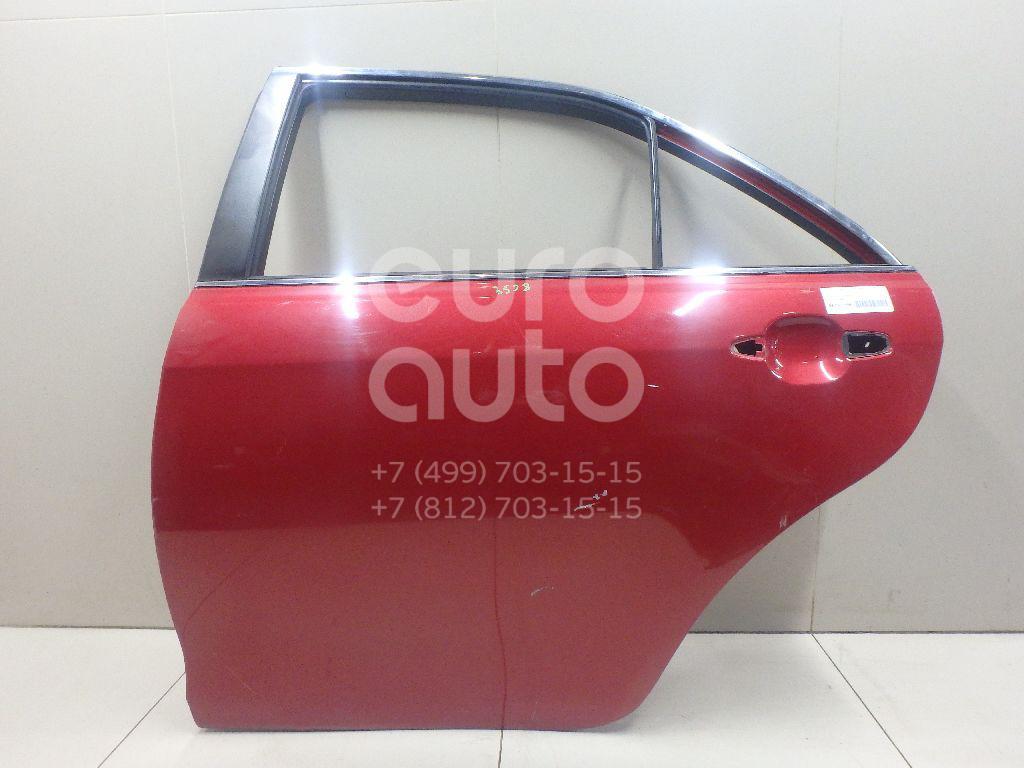 Дверь задняя левая Toyota Camry V40 2006-2011; (6700406070)