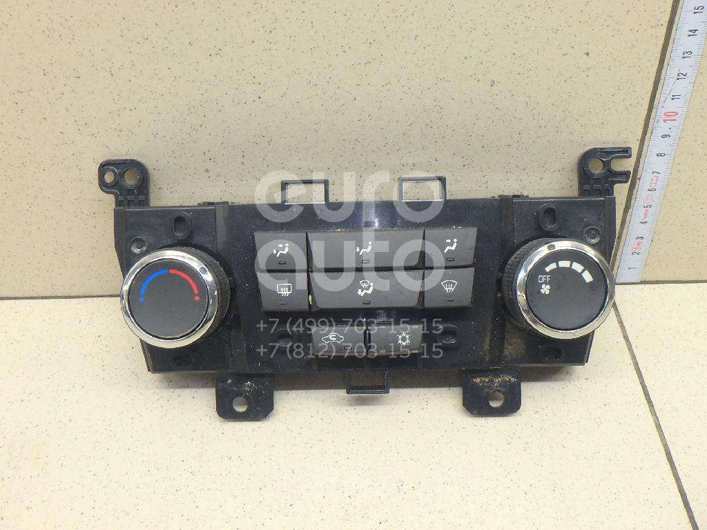 Блок управления отопителем Chevrolet Cruze 2009-2016; (95017054)  - купить со скидкой
