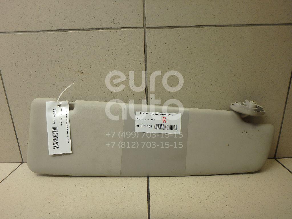 Купить Козырек солнцезащитный (внутри) Peugeot Boxer 250 2006-; (1612107580)