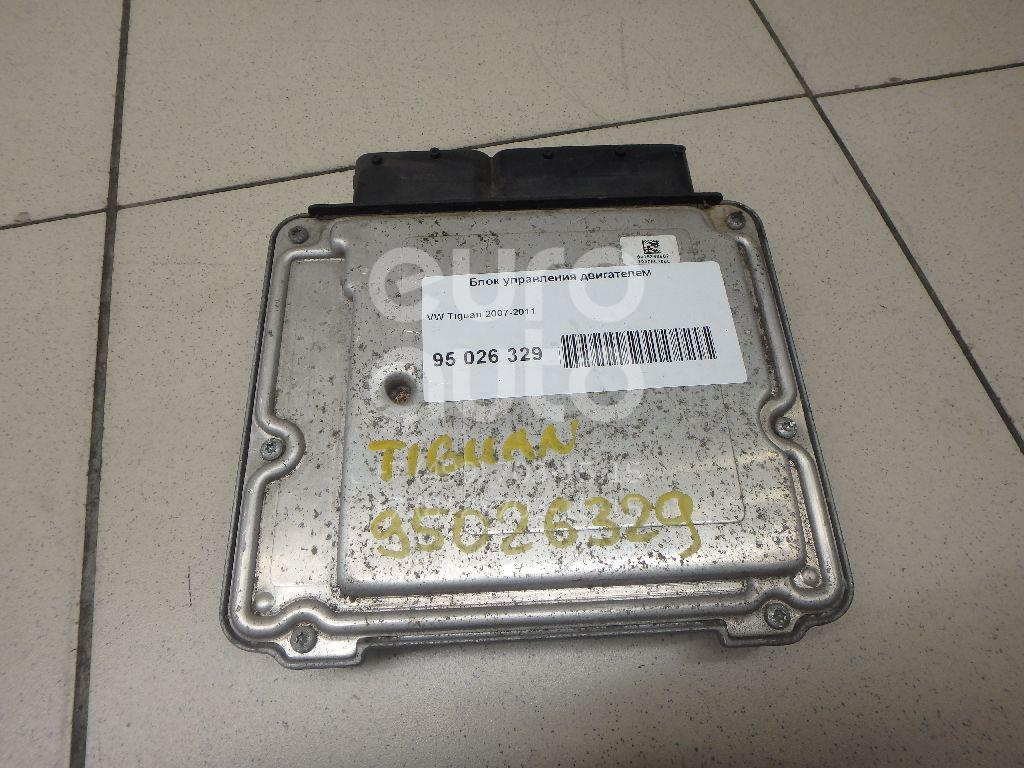 Блок управления двигателем VW Tiguan 2007-2011; (06J906026H)