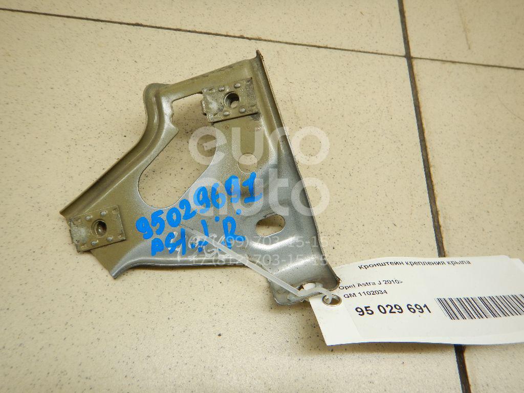 Купить Кронштейн крепления крыла Opel Astra J 2010-; (1102034)