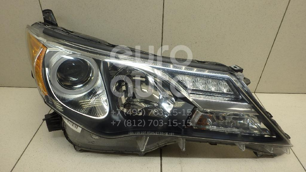 Купить Фара правая Toyota RAV 4 2013-; (811100R042)