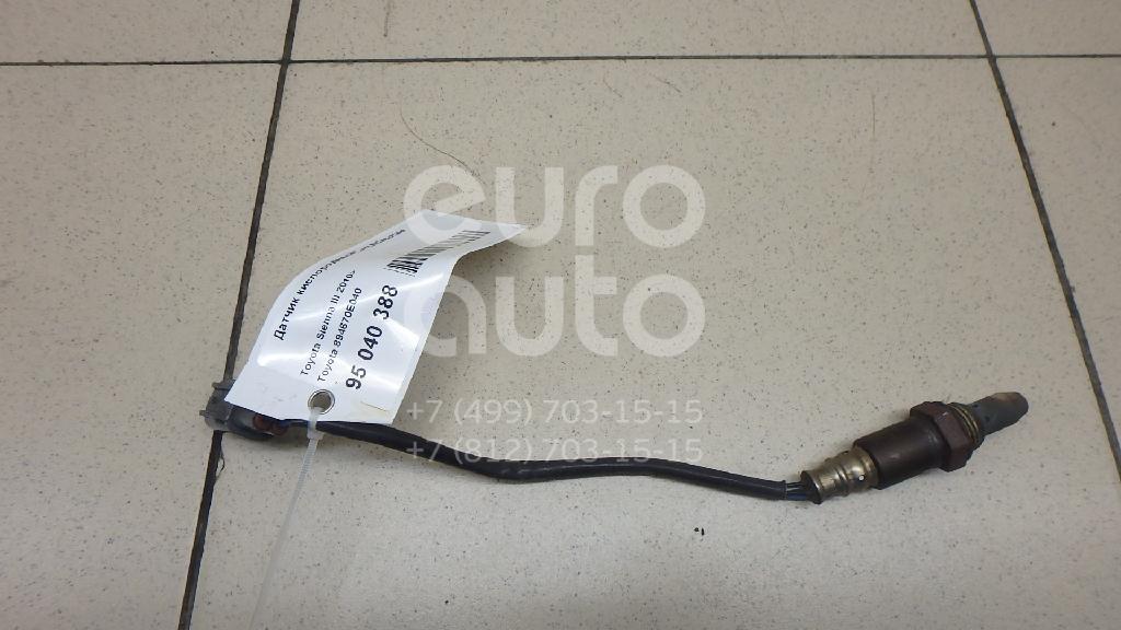Купить Датчик кислородный/Lambdasonde Toyota Sienna III 2010-; (894670E040)
