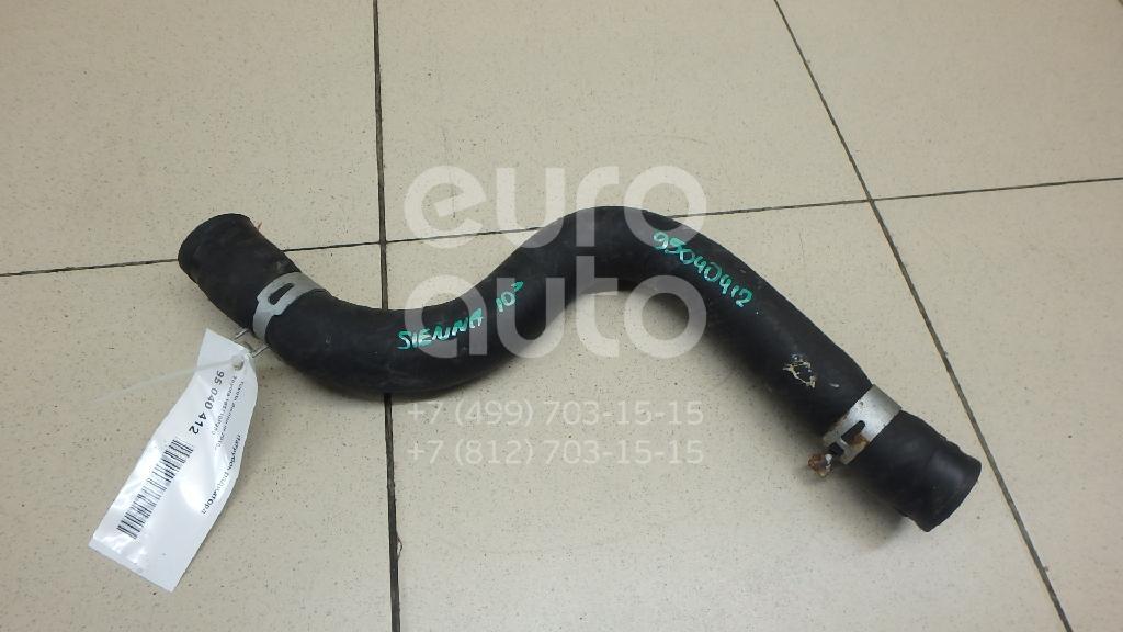 Купить Патрубок радиатора Toyota Sienna III 2010-; (165710P230)
