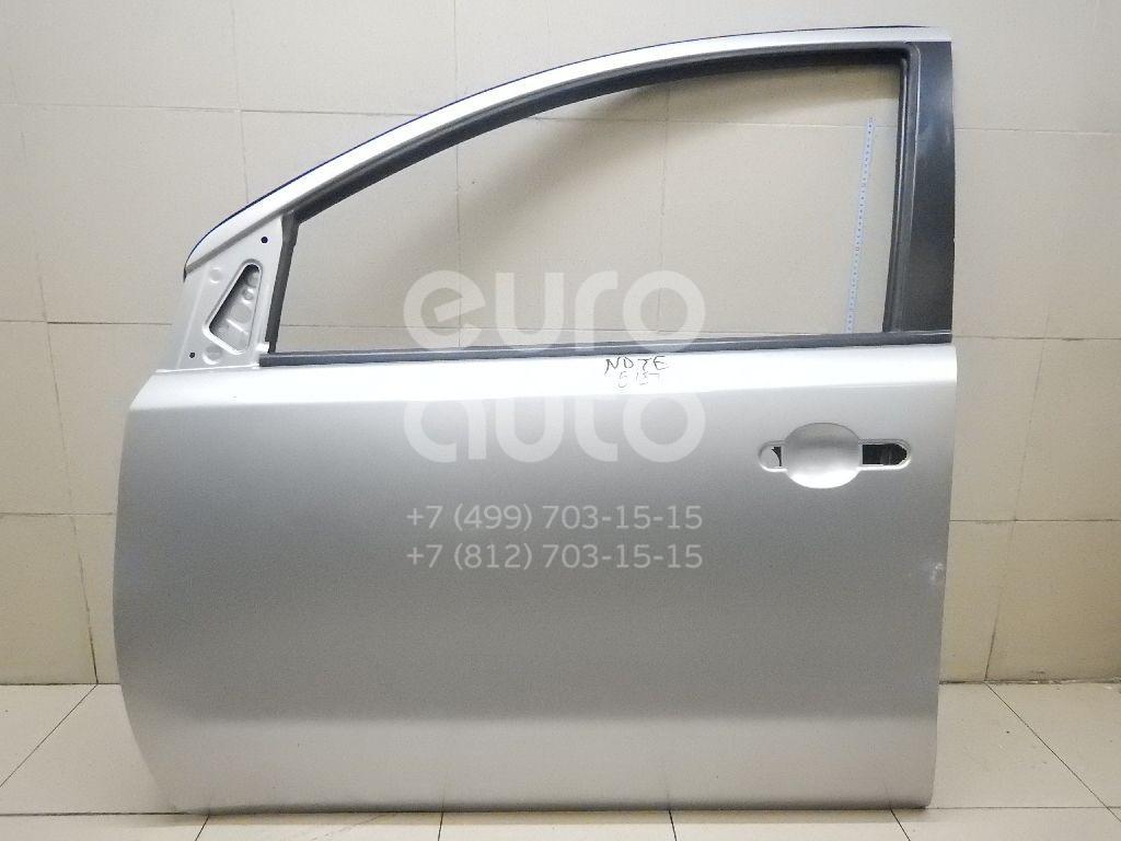 Купить Дверь передняя левая Nissan Note (E11) 2006-2013; (H010A1U6MA)
