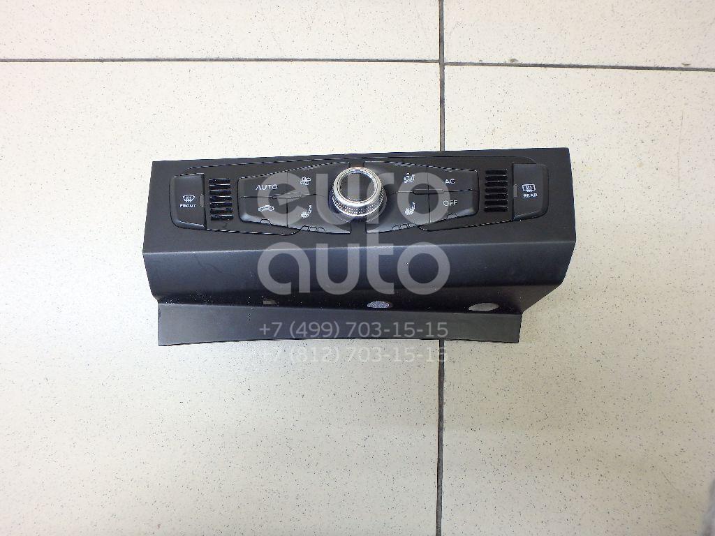 Купить Блок управления климатической установкой Audi A4 [B8] 2007-2015; (8K1820043AGXZF)