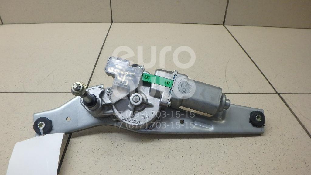 Моторчик стеклоочистителя задний Nissan Note (E11) 2006-2013; (287109U000)