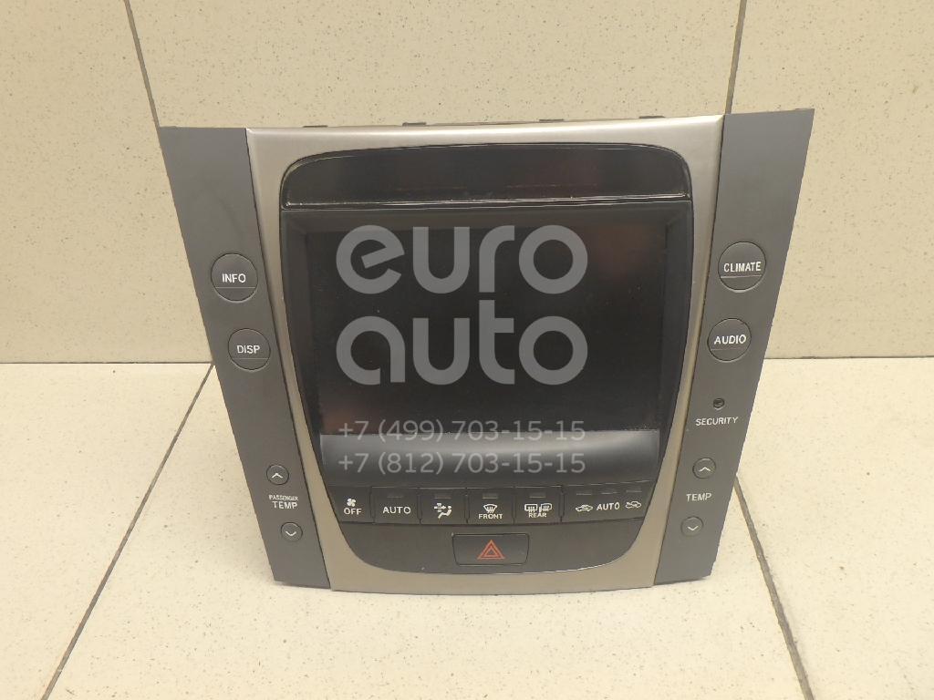 Купить Дисплей информационный Lexus GS 300/400/430 2005-2011; (8611130440E0)