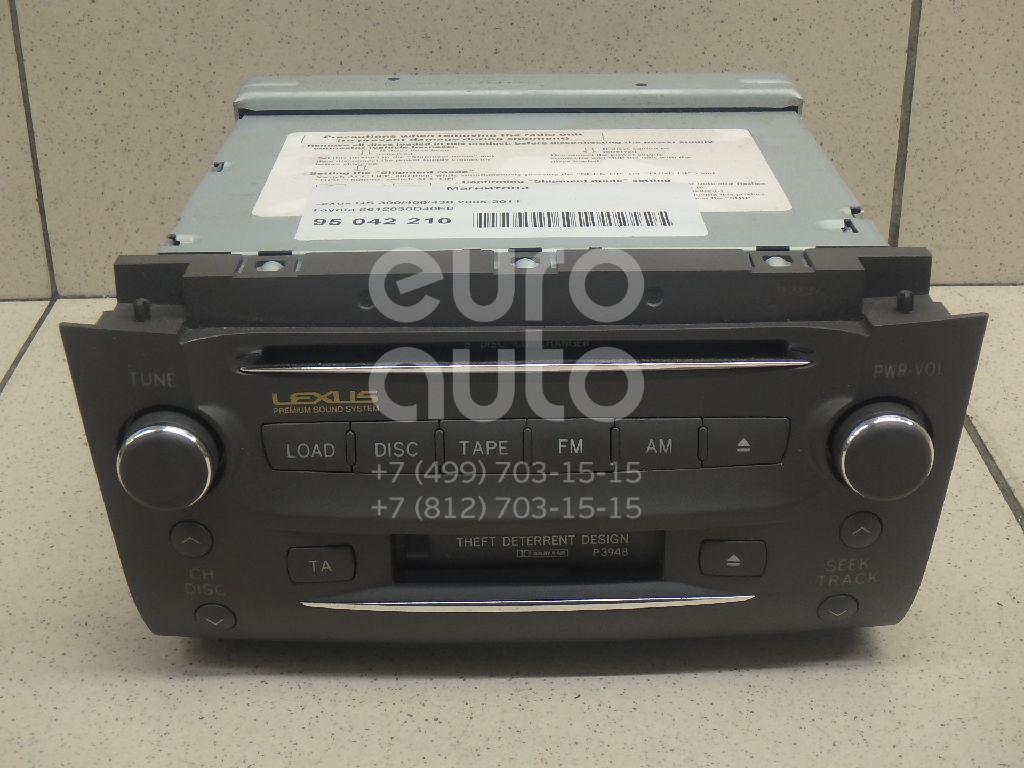 Купить Магнитола Lexus GS 300/400/430 2005-2011; (8612030D40E0)